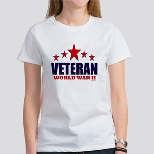 Veteran World War II Women's T-Shirt